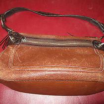 Brighton Brown Leather Handbag Photo