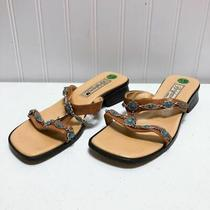 Brighton Brown Sandals Leather Leslie Size 5.5m Photo