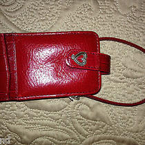 Brighton Cell Phone Case Holder Red Leather (Ac1000) Photo