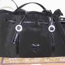 Brighton Cinabar Black Suede Handbag - New in Box Photo