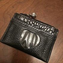 Brighton Coin and Id Purse - Black Leather Photo