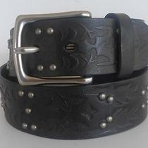 Brighton Collectibles Men's New Black Honest Leather Belt  Size 30 Style  M70113 Photo