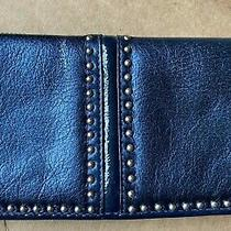 Brighton Collectibles Metallic Blue Wallet Photo