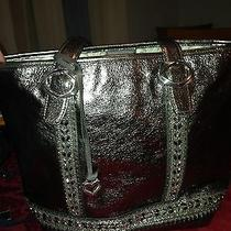 Brighton Collectibles Metallic Tote Handbag Photo