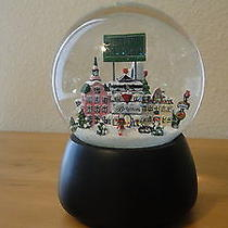 Brighton Collectibles Musical Christmas Snow Globe  Plays Song