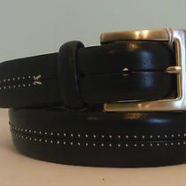 Brighton Collectibles New Leather Belt  Size 32  Nwt  10 Pics Photo