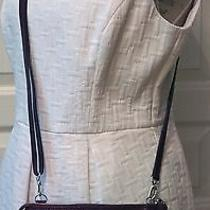 Brighton Collectibles Purple Snake Embossed Leather Cross-Body/wrist Purse Photo