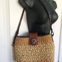 Brighton Collectibles Straw Handbag Purse Photo