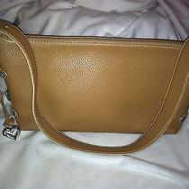 Brighton Collectibles Tan Leather Handbag Photo