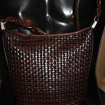 Brighton Collection Brown Leather Handbag Excellent Condition  Photo