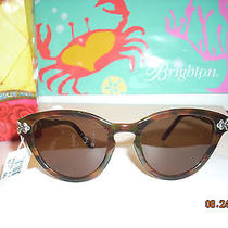 Brighton Crimson and Clover Sunglasses Nwt Photo