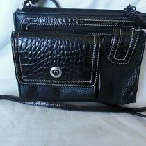 Brighton Crossbody Purse With Organizer Black Photo