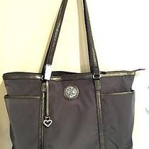 Brighton  Deena Microfiber/leather Handbag Purse Photo