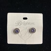 Brighton Earrings New Twinkle Tanzanite Ps J2049k Photo