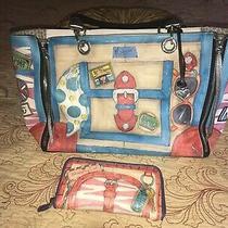 Brighton Fashionista Vip Collection Handbag With Matching Wallet Photo
