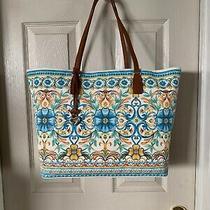 Brighton Fiorella X Large Tote Handbag Purse Nwt Photo