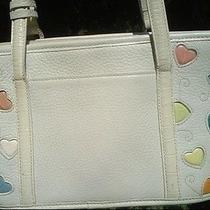 Brighton  Fresca   Raining Colored Hearts  Shoulder Bag W/ Pastel Hearts  Photo