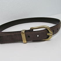 Brighton Genuine  Leather Belt Taupe Men's Size 30 Crafted With Pride in Usa Photo
