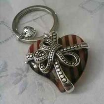 Brighton Gift of Love Heart Key Fob Nwt Photo
