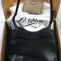 Brighton Gina Pures Handbag Black Leather H2172 Photo