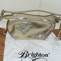 Brighton Gold Leather Purse Photo