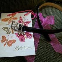 Brighton Golf Brown Leather Belt Photo