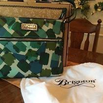 Brighton Hadley Spruce Paint Crossbody Handbag Purse Photo