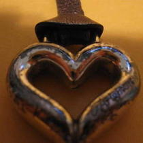 Brighton Heart Fob on Leather Used  Photo