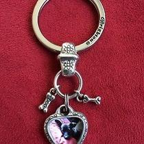 Brighton Heart Key Chain - I Love My Dog Photo