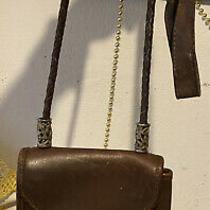 Brighton   Iris  Flap  Messenger Brown Vintage Leather Shoulder Bag Photo