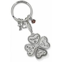 Brighton Jewelry New With Tags Lucky Charm Heartclover Key Fob Photo