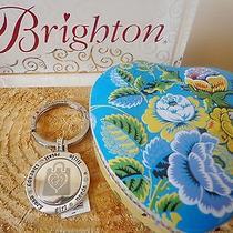 Brighton Key Chain Retail Therapy E14590 With Authentic  Brighton Box New Photo
