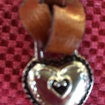 Brighton Key Fob Leather Heart Photo