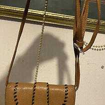 Brighton  La Mesa Stitched Distressed Leather Purse Wallet Organizer Crossbody  Photo