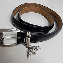 Brighton - Leather Belt Size 32 Photo