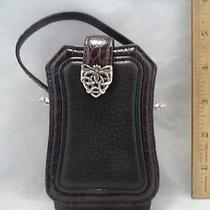 Brighton Leather Cell Phone Holder Fancy Buckle Photo