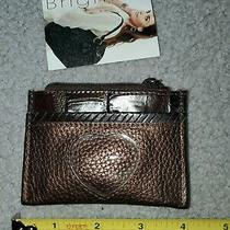 Brighton Leather Coin Purse Copper Brown New Photo