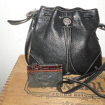 Brighton Leather Cross Body Bag Shoulder Bag Purse & Coin Purse Photo
