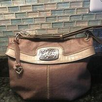 Brighton Leather Shoulder/tote Handbag Photo