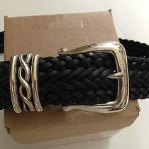Brighton Leather Size Small Black Belt Size Small Total Length Is 32 in Size 25  Photo