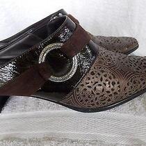 Brighton Leather Talent Mules   Original Price  200.00 Photo