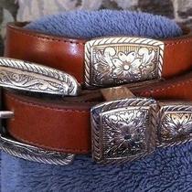 Brighton Leather Womens Belt Photo