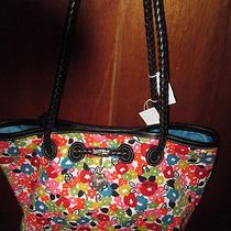 Brighton Lilliana Petal Power Floral Design Handbag Purse Nwt Photo