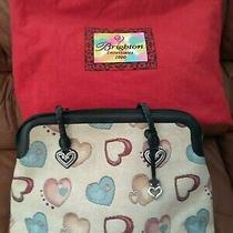 Brighton Limited Collectible-Yr. 2000-Audrie Shoulder Bag With Scattered Hearts Photo