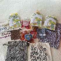 Brighton Lot of Fabric Bags Tin Gift Bags Photo