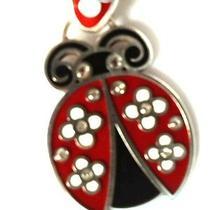 Brighton 'Lucky' Palmer Ladybug  Keychain Fob Ring  Nwt  Photo