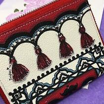 Brighton  Magic Carpet Med Wallet Fashion Passport Nwt 105 Photo