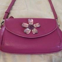 Brighton Marvels Floral Convertible Purse Wristlet Clutch in Pink Photo