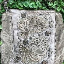 Brighton Masterpiece Collection Floral   Studded Xlg Cwp Tote Hobo Shoulder Bag  Photo