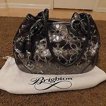 Brighton Metallic Pewter Handbag Photo